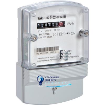 Электросчетчик однофазный НІК 2102-02 М1В (5-60А)