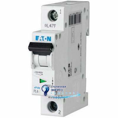 Автоматический выключатель Eaton PL4-C25/1