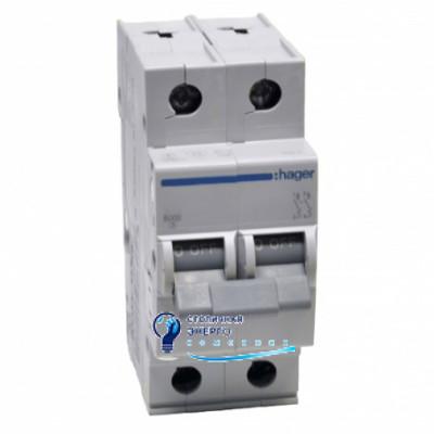 Автоматический выключатель MC516A (2р,С,16А) Hager