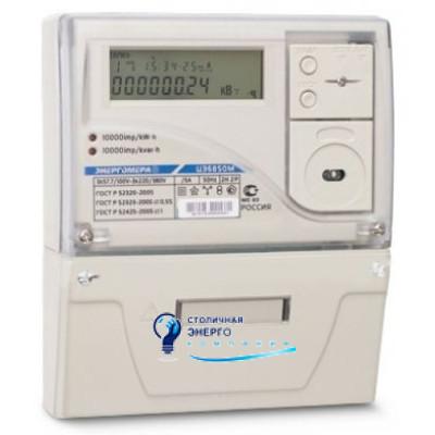 Трехфазный многотарифный многофункциональный электросчетчик ЦЭ6850М-1/2-220В-5-100А-2Н-2Р-Ш31