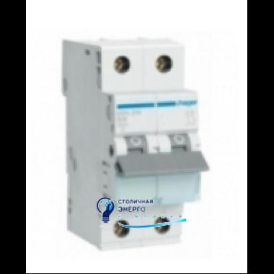 Автоматический выключатель MC202A (2р,С,2А) Hager