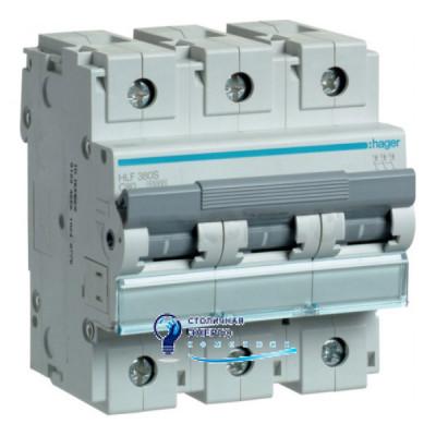 Автоматический выключатель HLF380S (3р,С,80А) Hager