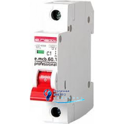 Автоматический выключатель 1р, 20А, e.mcb.stand.45.1.C20, E.NEXT