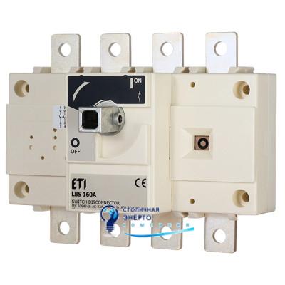 Выключатель нагрузки LBS 4P 160 (