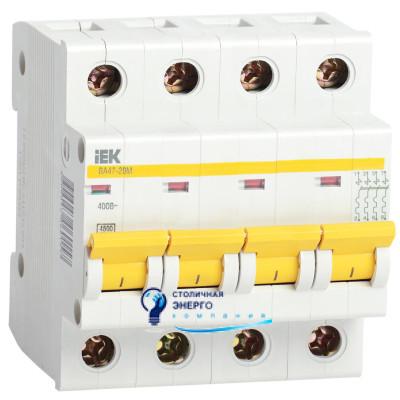 Автоматический выключатель ВА47-29М 4п, С, 32А, IEK