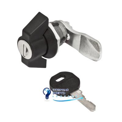 Замок с индивидуальным ключем (ручка пластик) LK-B1333-M22