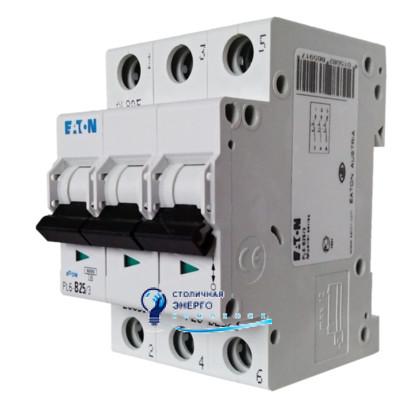 Автоматический выключатель Eaton PL6-C20/3