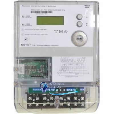 Электросчетчик трехфазный MTX3R30.DK.4Z1-P4 (PLC+датчик магн.поля) Teletec